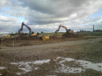 SIMAB gräver ute vid Toftanäs 1