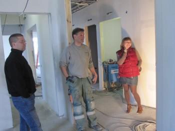 Byggare Bengt beskriver bygget