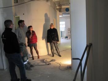 Byggare Bengt berättar mer om bygget