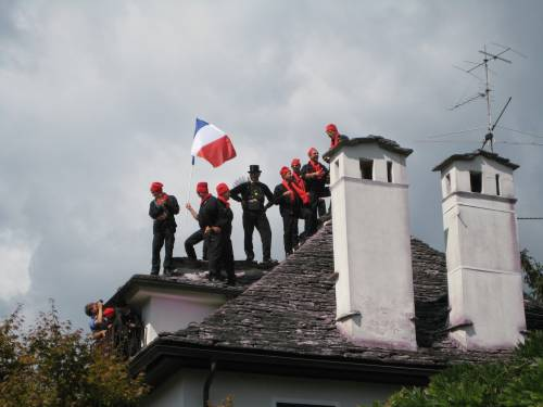 Sotare från Frankrike på tak