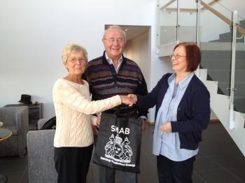 Elsie vann 250:- i bildtävlingen på Hem & Villa.