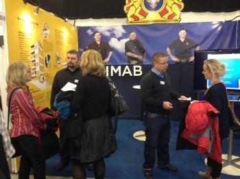 Många besök i SIMABs monter dag 1