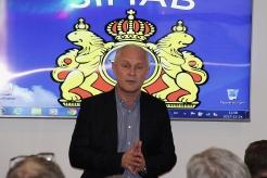 Jonas Olsson, SIMAB, hälsar välkomna.
